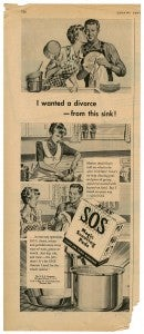 S.O.S I wanted a divorce from this sink ad