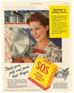 S.O.S Make your pots and pans last longer ad