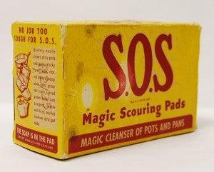 S.O.S Magic Scouring Pads