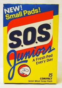 New! Small Pads! S.O.S Juniors