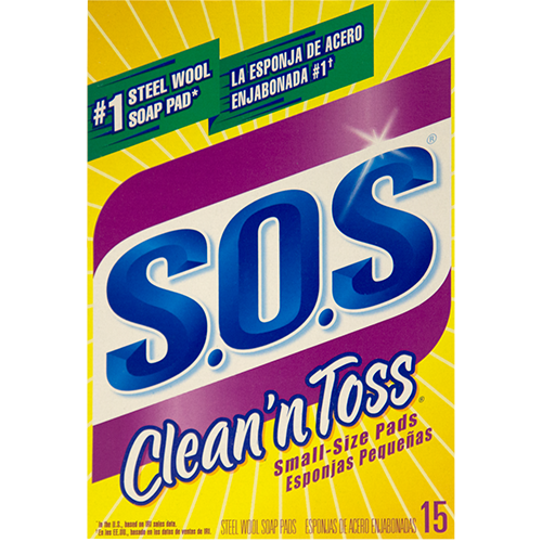 Clean 'n Toss Small-Size Pads