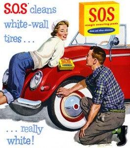 S.O.S magazine ad