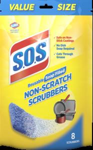 S.O.S Non-Scratch Scrubbers