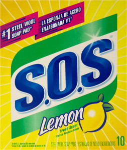 S.O.S Lemon Steel Wool Pads