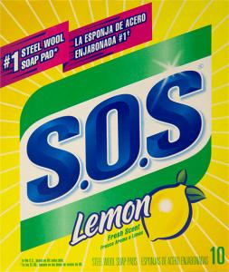 Lemon Scented Steel Wool Pads