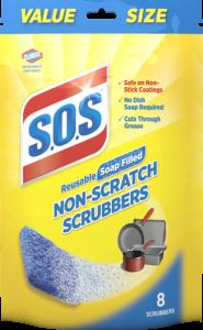 Non-Scratch Scrubbers