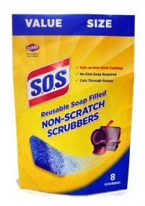 sos non scratch scrubbers